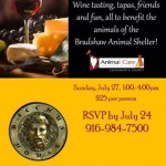 Join Us! Wine Tasting, Friends & Fun Benefit for the Animals