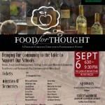 Food For Thought Fundraiser
