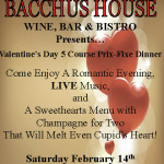 Valentine's Day Prix Fixe Dinner – SOLD OUT!