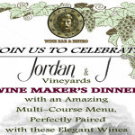 Jordan & J Vineyards Wine Maker's Dinner