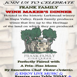May 2015 Winemarker's Dinner at Bacchus House featuring Frank Family
