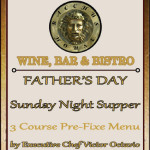 Father's Day – 3 Course Prix Fixe Dinner