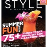 Bacchus House Mai Tai on the Cover of Style Magazine