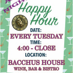 All Night Happy Hour on Tuesdays!