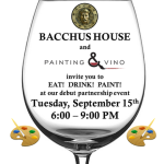 Painting and Vino at Bacchus House