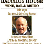 FIRST FRIDAYS – Live Music at Bacchus House