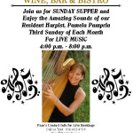 THIRD SUNDAYS – Live Music for Sunday Supper