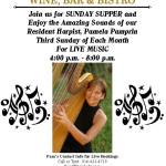 THIRD SUNDAYS – Live Music for Sunday Supper