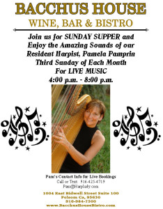 THIRD SUNDAY - Live Music with Pamela Pamprin