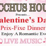 Valentine's Day Prix Fixe Dinner – Feb 14, 2016