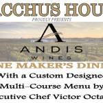 Andis Wines, Wine Maker's Dinner – March 17th