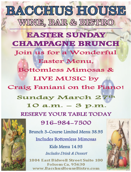 Easter Sunday Brunch - March 27th, 2016