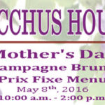 Mother's Day Brunch & Supper at Bacchus House