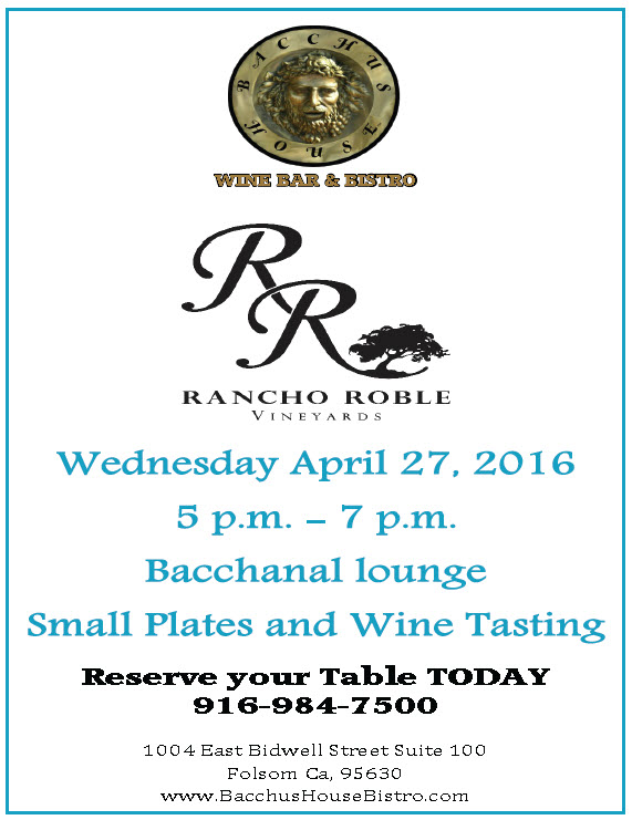 Rancho Roble Wine Tasting