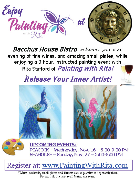 BH Paint with Rita - Aug Sept Oct 2016