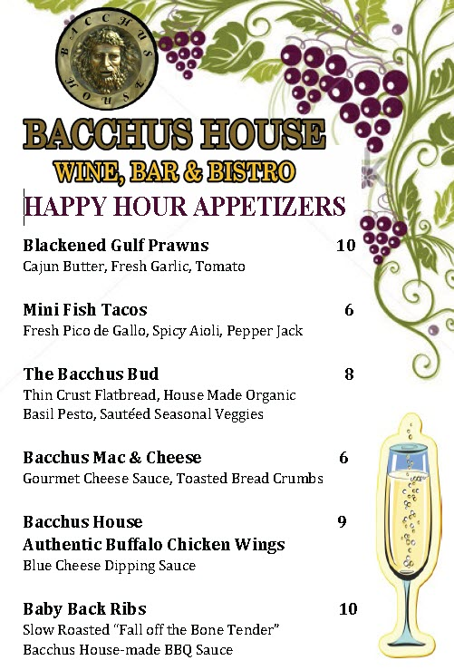 Happy Hour Appetizers