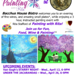 Painting with Rita – April 12 & 26th