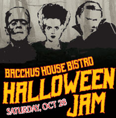 Bacchus House Halloween Musical Jam - Oct 28th