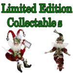 "Bacchus House Limited Edition Collectables ""2017 Christmas Fairies"""