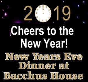 2019 New Year's Eve Dinner & Celebration