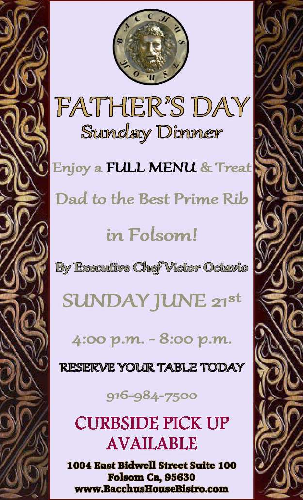 BH-Father's Day Menu