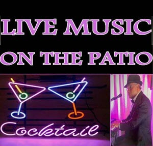 Live Music on the Patio - Weekends in August