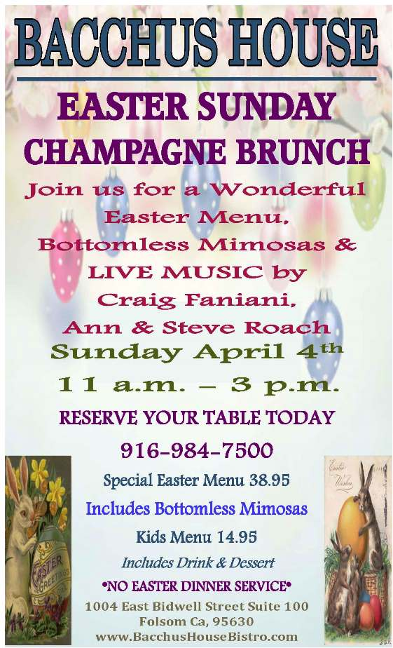 Easter Sunday Brunch - April 4, 2021